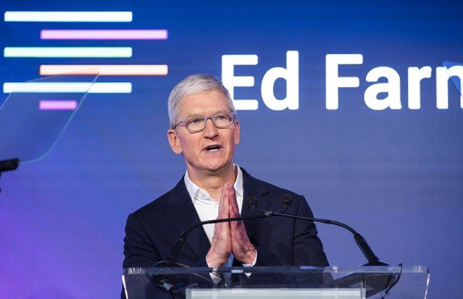 "Apple partners with Birmingham-based ""Education Farm"" to offer innovative education solutions"